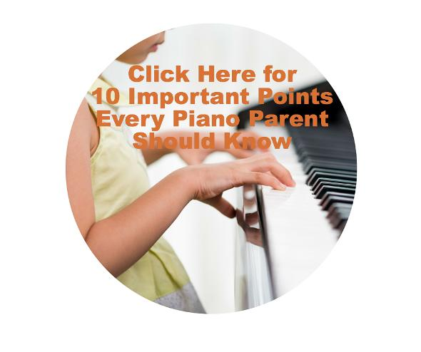 10 Important Points Every Piano Parent Should Know